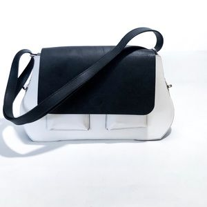 Opening Ceremony X Fossil Reversible Flap Bag